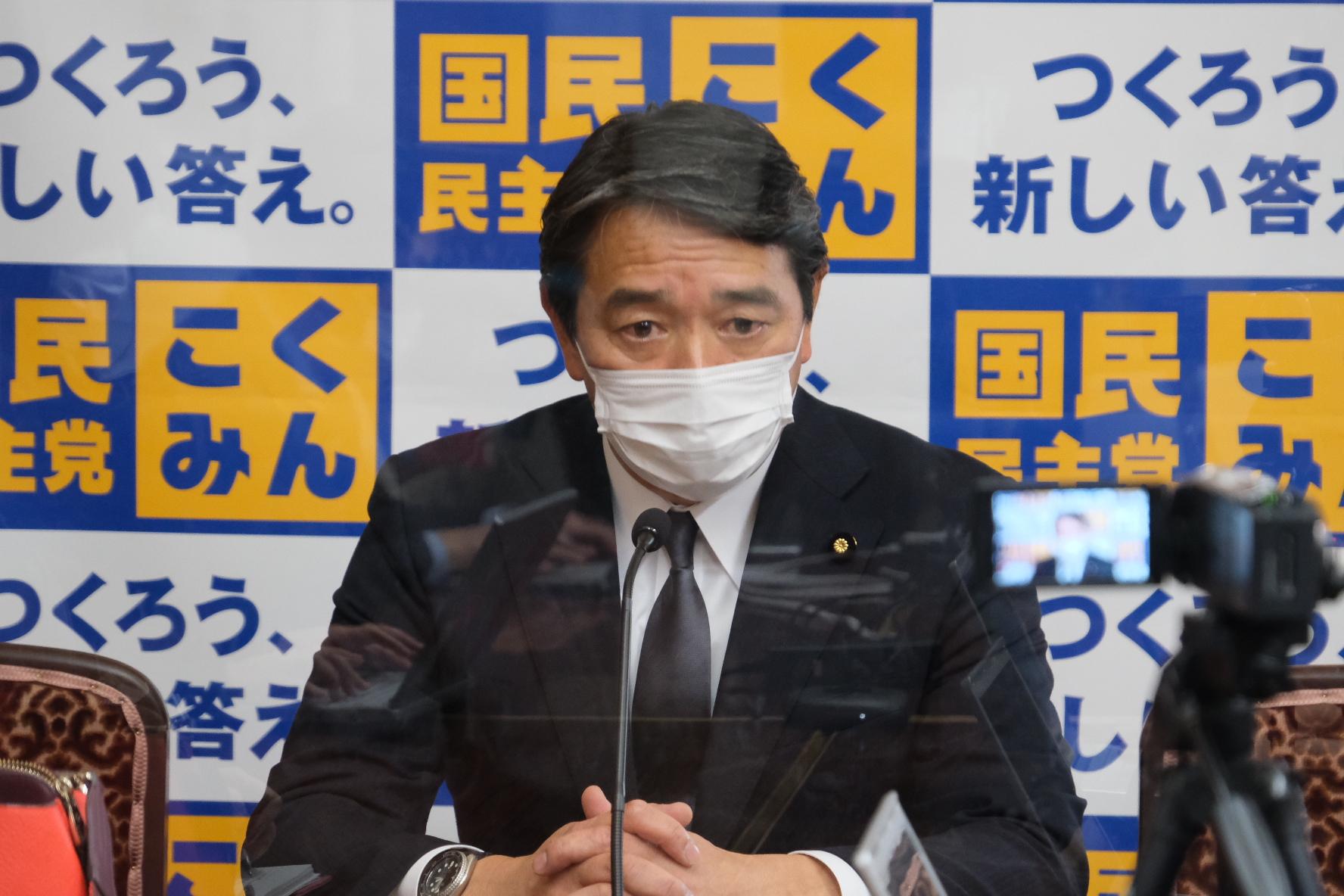 国民民主党 幹事長定例会見(2021年2月12日)