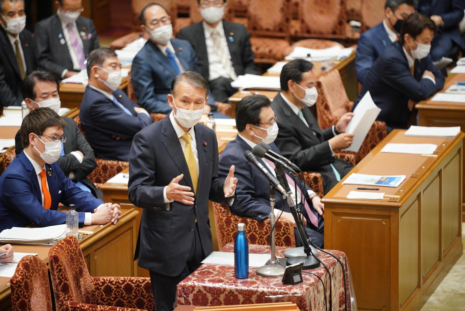 【衆予算委】岸本幹事長代理が予算委員会で新型コロナウイルス感染症対策等について質疑