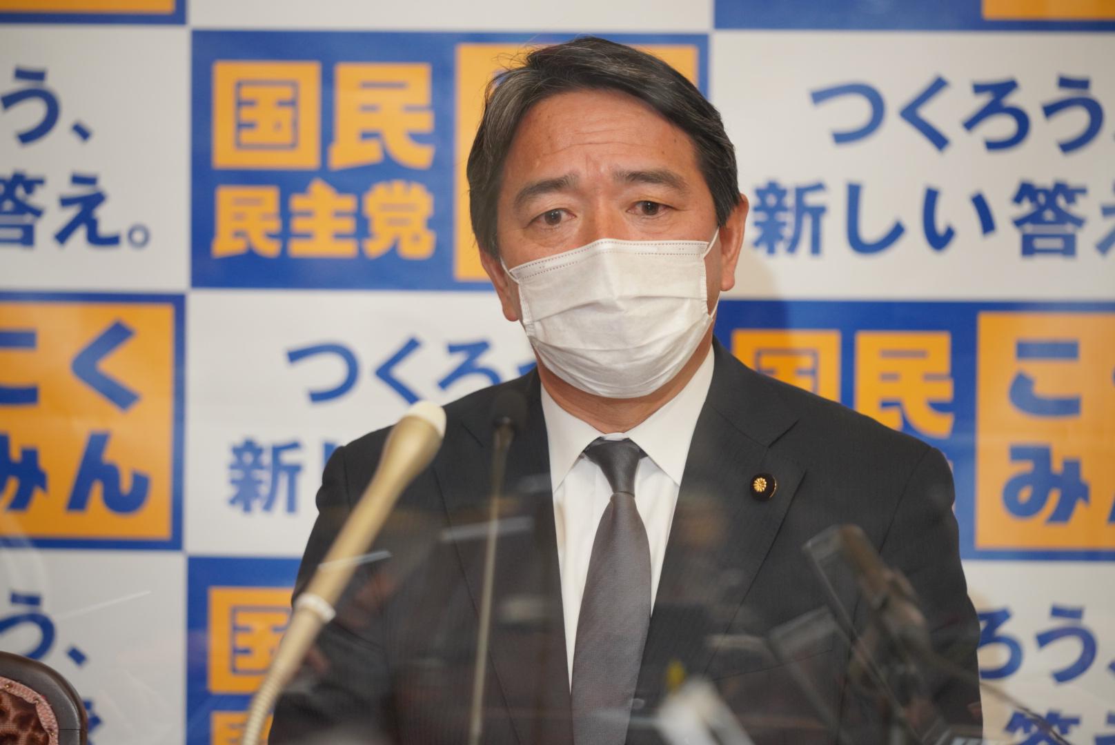 国民民主党 幹事長定例会見(2021年3月26日)